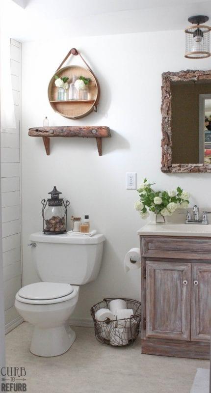 curbtorefurb bathroom makeover