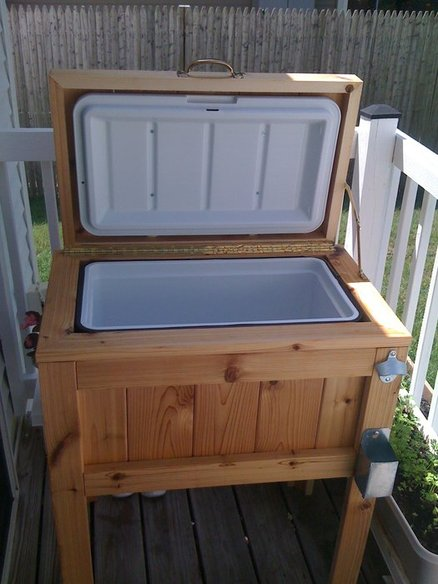 DIY Deck Cooler Stand | Lumber Jocks