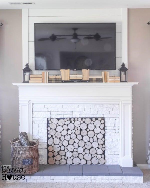 Ideas For Fireplace Mantel Alternatives, Mantel Shelf Ideas Without Fireplace