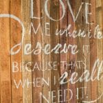 feature ombre wood quote