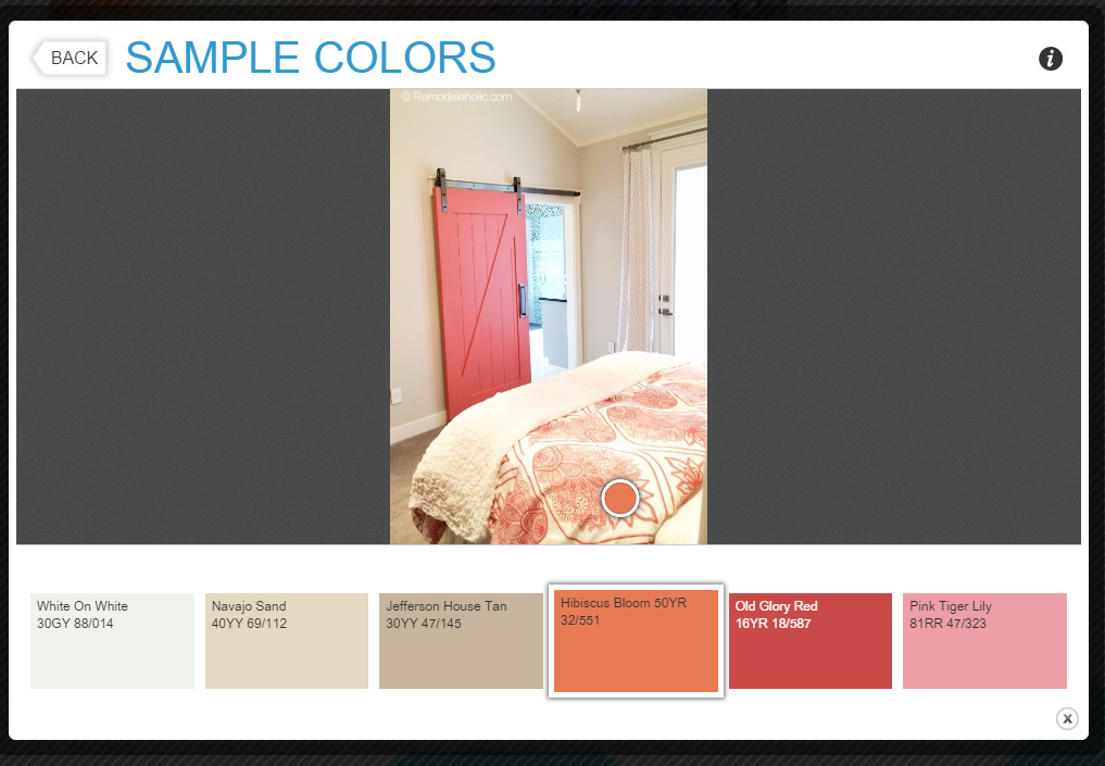 Evejulien apps to match and find paint color palettes for Paint color palette