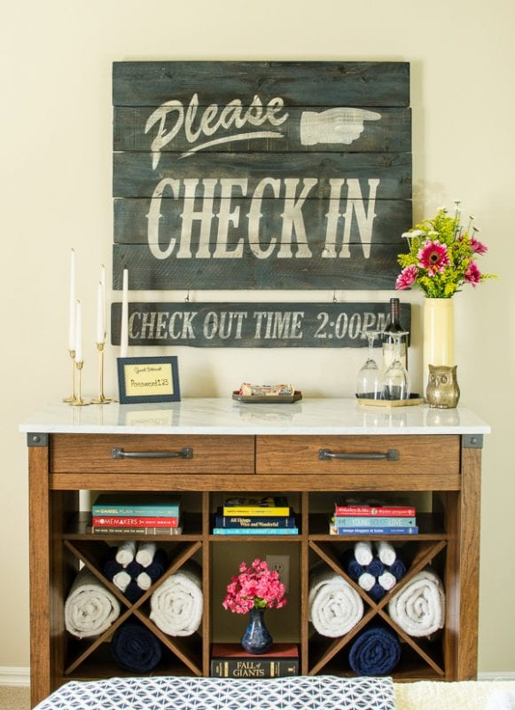 guest room makeover, A Prudent Life
