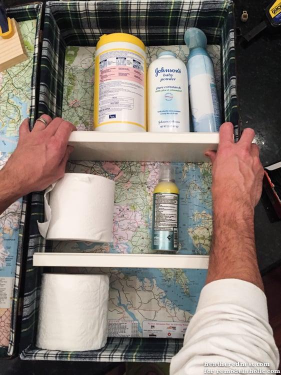 DIY Medicine Cabinet/Bathroom Vanity from a Vintage Suitcase!!   Unique addition to your bath!