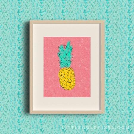 pineappleframe