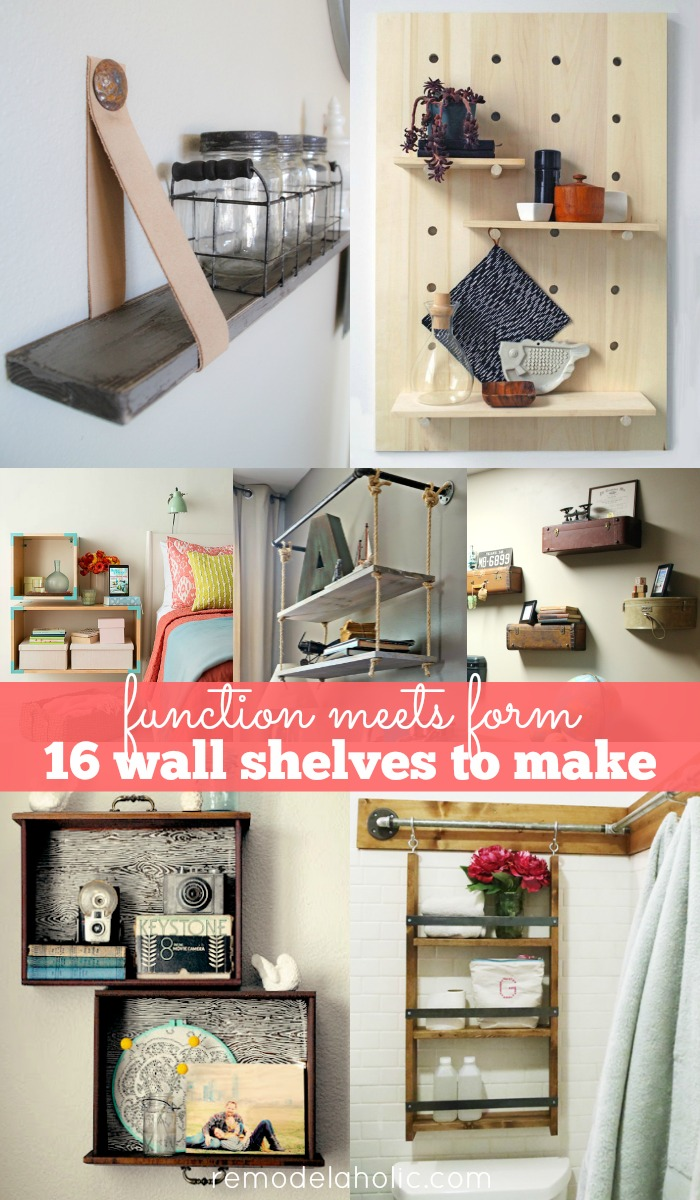 Remodelaholic 30 Functional Wall Decor Ideas