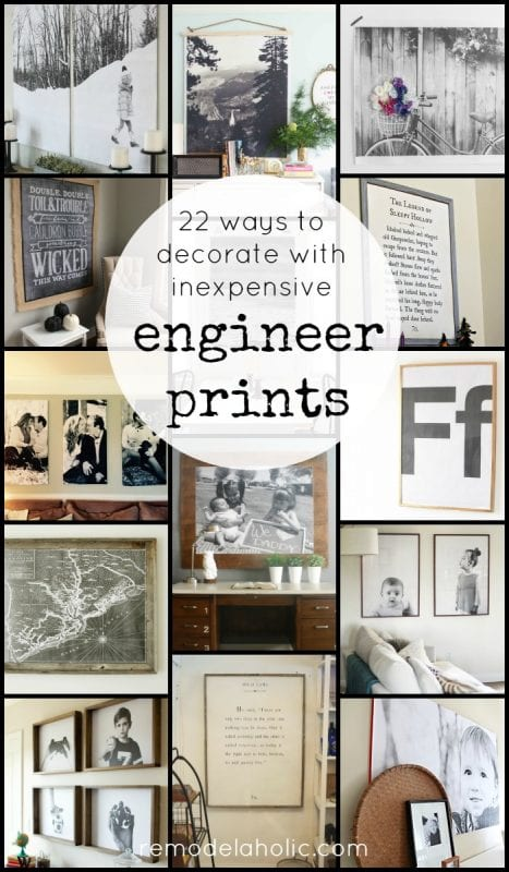 page 3 22 ways to decorate with engineer prints