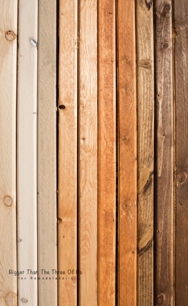Stained Wood Wall: Tips For Creating A Modern Balanced