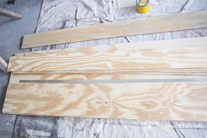 Remodelaholic Diy Wood Beam Doorway