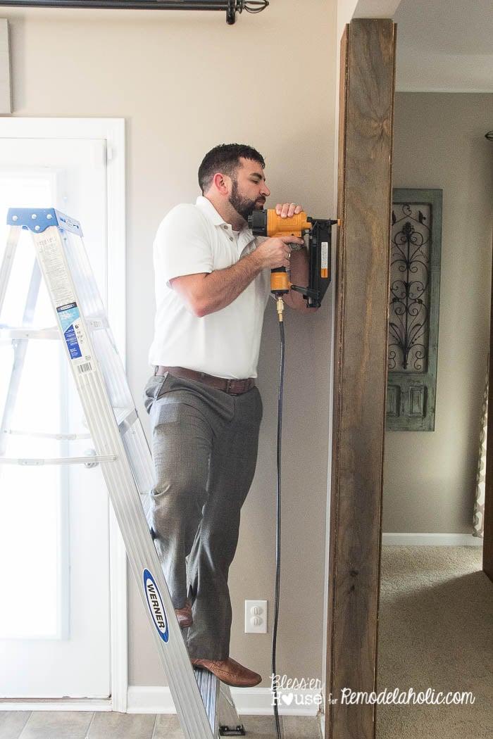 DIY Wood Beam Doorway (8 of 23)