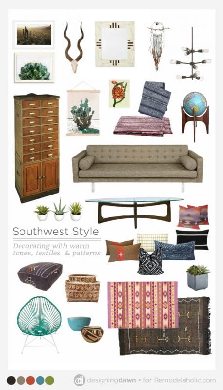 Designing Dawn for Remodelaholic - Southwest Style
