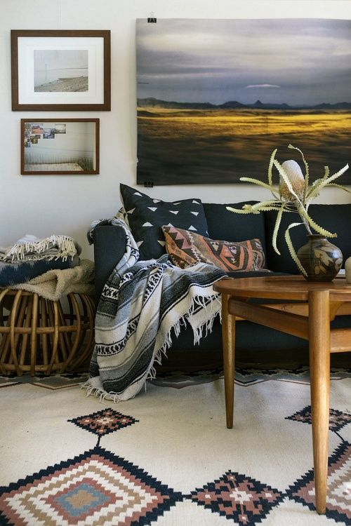Boho Living Room Inspiration