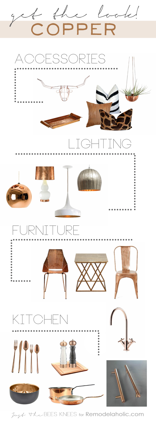 Decorating with copper, the trending classic warm metal, can be as simple as adding a few accessories. See our favorites here.
