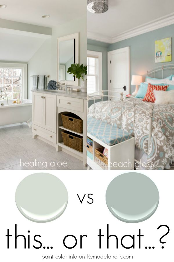 Remodelaholic color spotlight healing aloe from for Paint colors with high lrv