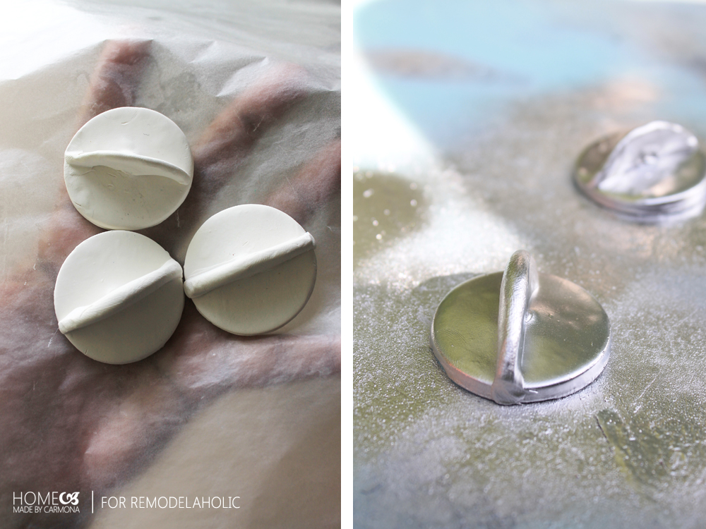 How To Make Knobs For A Play Kitchen