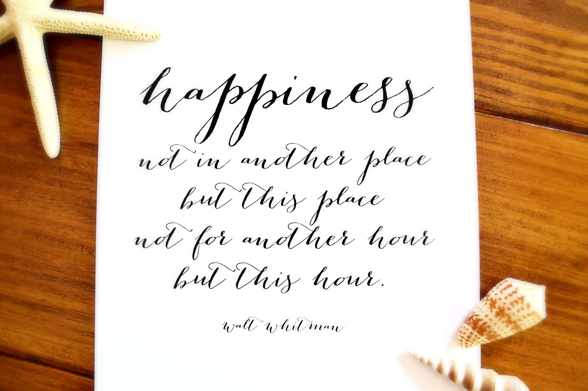 A Quote About Happiness Remodelaholic  Free Printable Happiness Quote