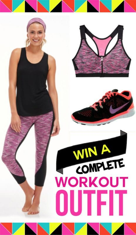 Enter to win a great workout outfit + gear
