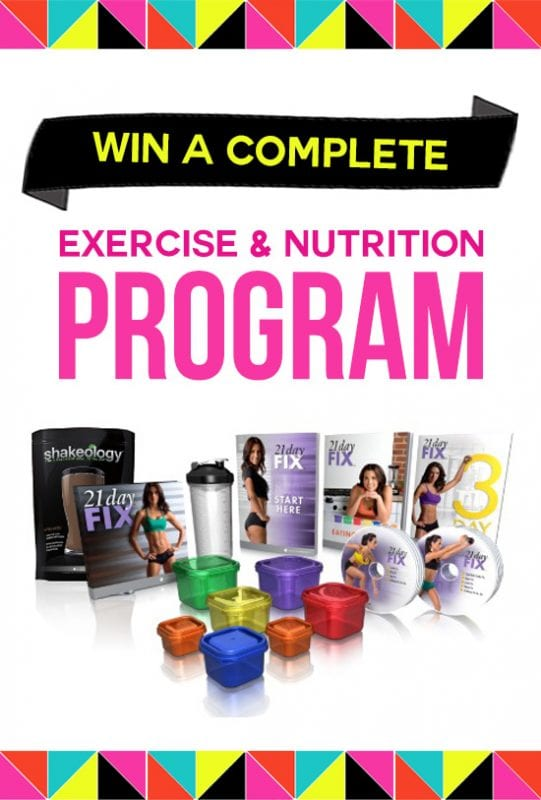 Win a complete fitness program, plus gear and cute workout clothes
