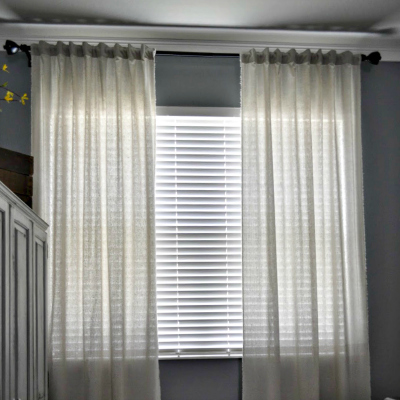 Square Linen Curtains