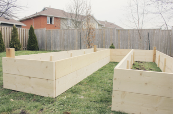 U Shaped Raised Garden Bed Britany Stanger