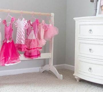 DIY Dress Up Storage