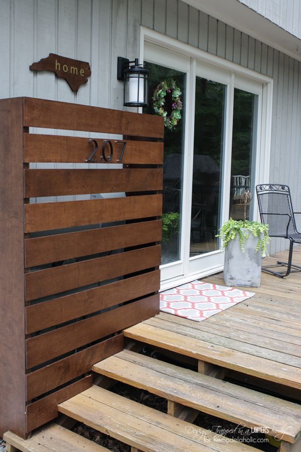 Remodelaholic 13 Ways To Hide Outdoor Eyesores