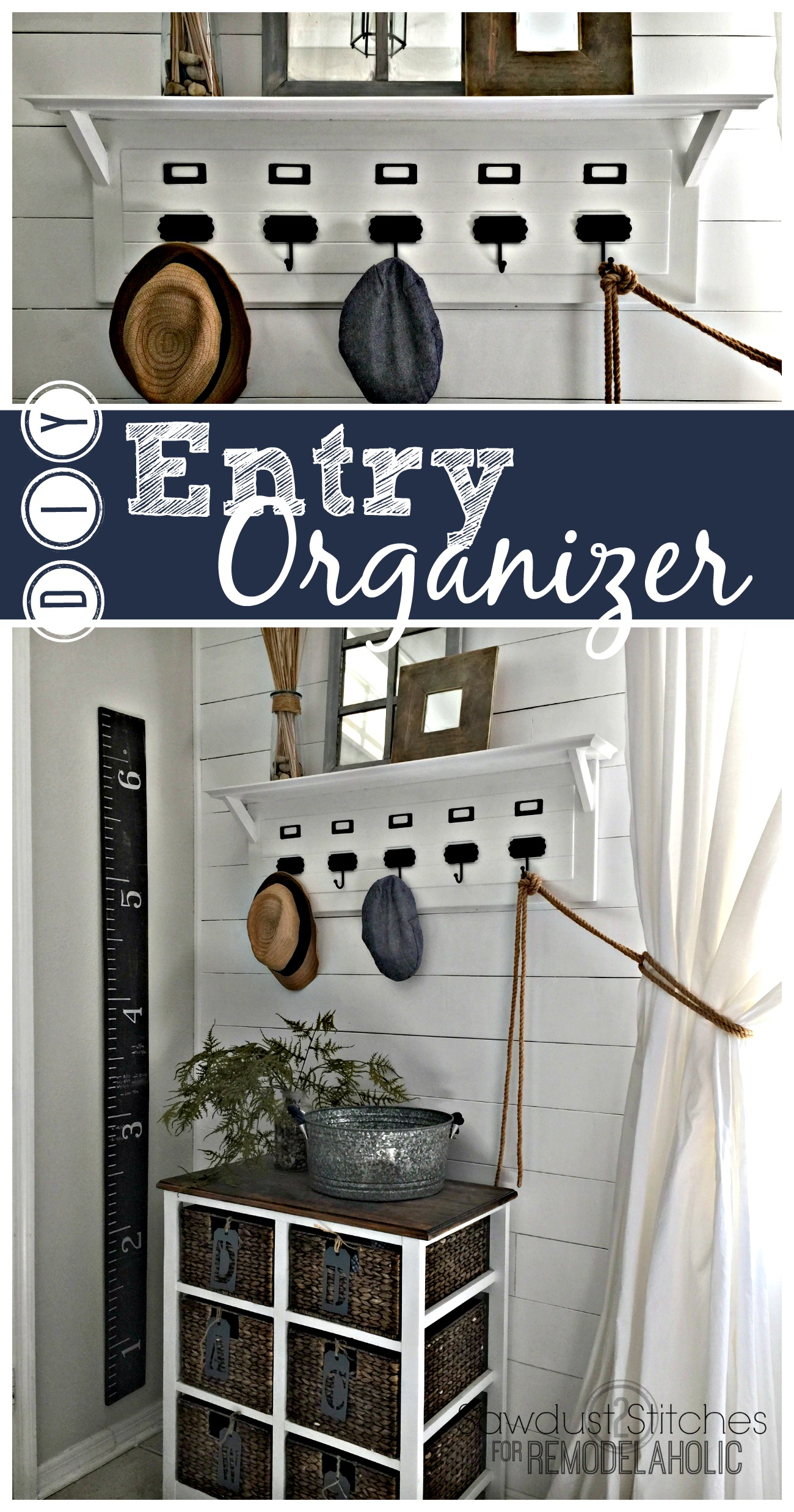 Exceptional Build An Easy And Inexpensive Entry Organizer, Inspired By Pottery Barn, To  Keep Your