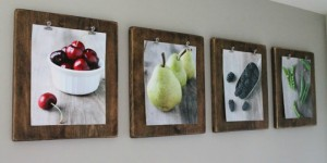 feat diy photo clipboard display for pictures and art prints (Love Grows Wild)