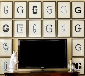 50+ Wall Decor Tips and Ideas