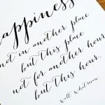 feature Printable Quote about Happiness