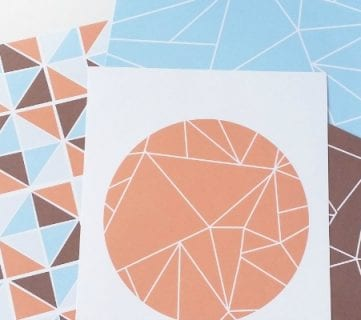 Free Modern Geometric Art Prints