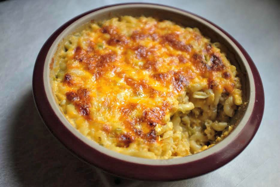 Green Chili Mac & Cheese