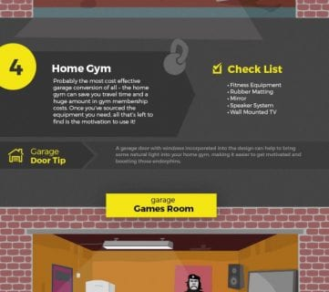 Make the Most of your Garage Infographic