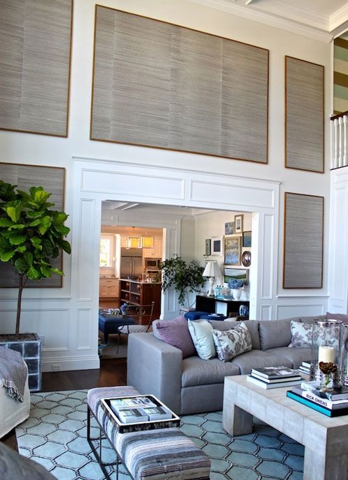 Large Wall Decorating Ideas remodelaholic | 24 ideas on how to decorate tall walls