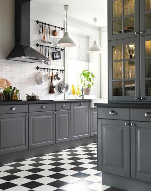 Remodelaholic | Decorating With Black: 13 Ways To Use Dark ... on Black Countertops  id=60079
