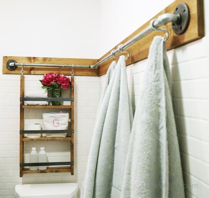 Towel Hook Ideas: 30+ Functional Wall Decor Ideas