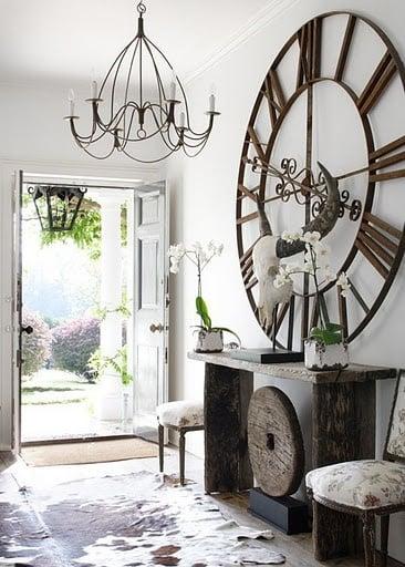 oversized clock