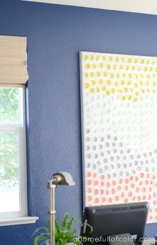 Remodelaholic 60 Easy Art Ideas For Kids Wall Decor