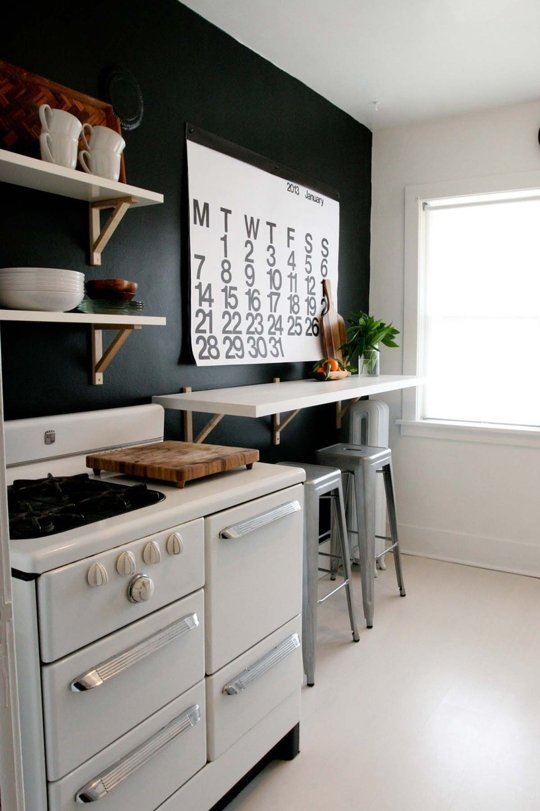 Remodelaholic Decorating With Black 13 Ways To Use Dark
