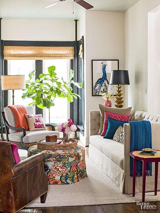 painted black windowsills and frames bhg. Black Bedroom Furniture Sets. Home Design Ideas