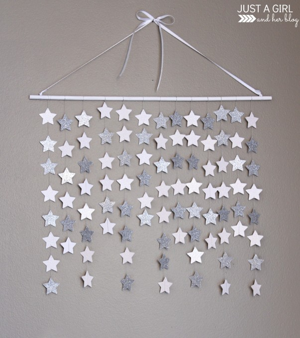 Easy Wall Decoration With Paper : Remodelaholic easy wall art ideas that even kids can make
