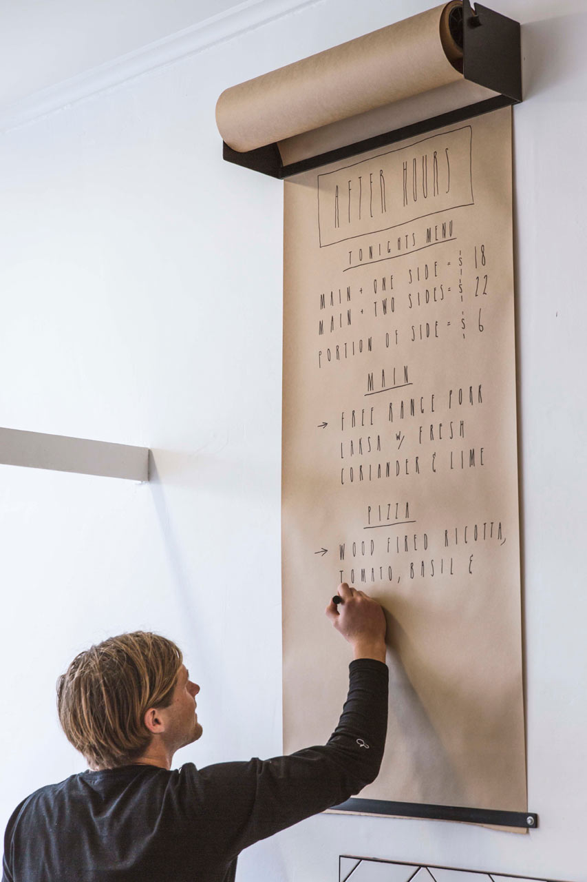 This Shows A Menu Board But Would Be Perfect For Keeping Family Lists Or Calendars Organized Writing Reminders Too Design Milk