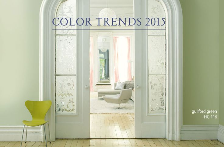 Great  Color of the Year from Benjamin Moore Guilford Green Remodelaholic