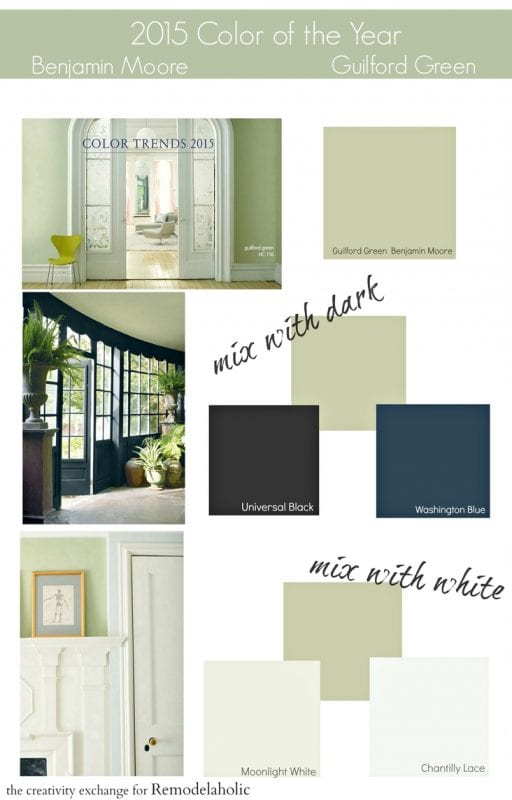 2015 Paint Color of the Year Benjamin Moore Guilford Green. Remodelaholic