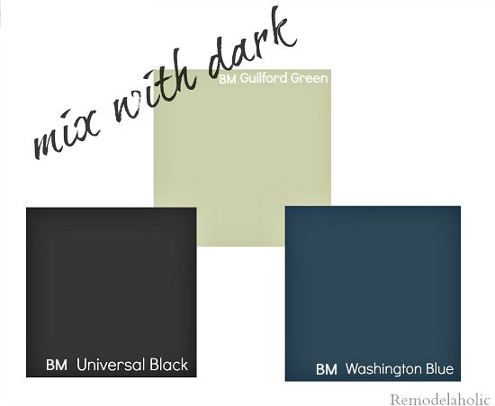 New  color of the year Guilford Green from Benjamin Moore Remodelaholic