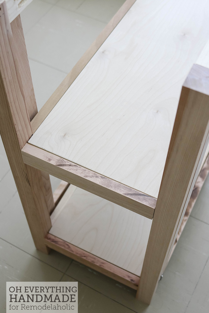 Craft Table made from scrap wood - sheling1
