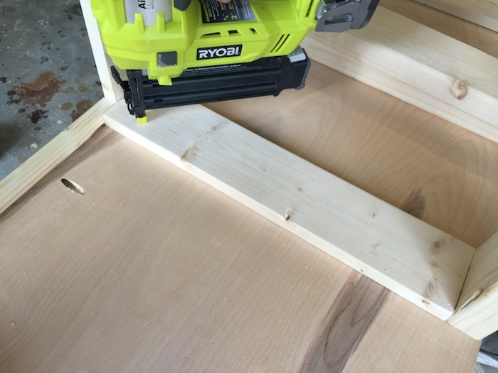 DIY Printmakers Media Console Plans - Step 9