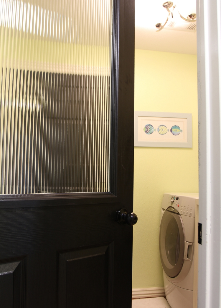 How To Add A Glass Window To A Hollow Core Door Remodelaholic