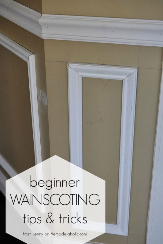 Delightful Installing Trim Wainscoting, Such As A Chair Rail Or Shadow Box Molding,  Instantly Updates