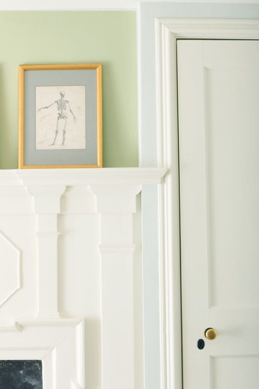 Beautiful  color of the year Guilford Green from Benjamin Moore Remodelaholic