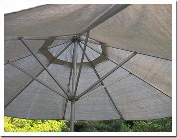 patio umbrella from dropcloth